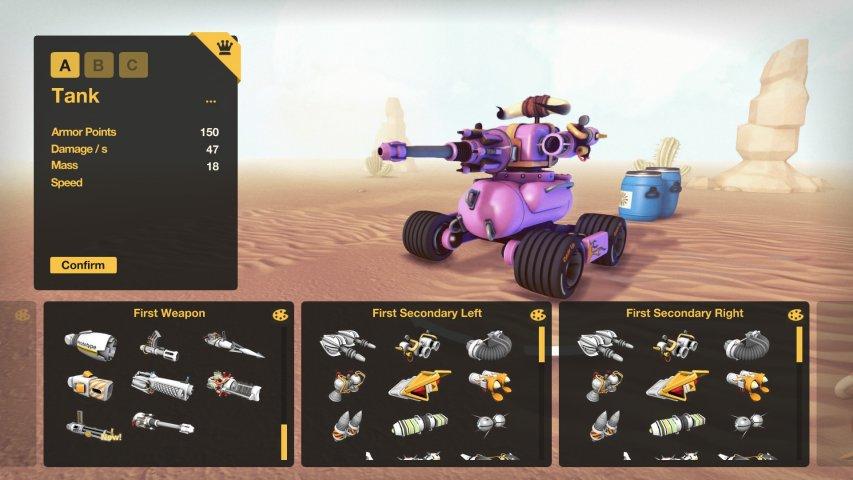 翻滚坦克-游戏截图第4张