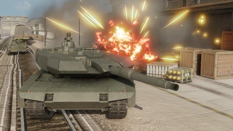 装甲战争截图第2张