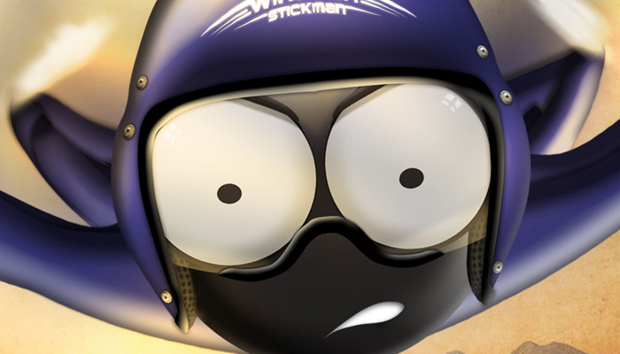 《滑翔火柴人》试玩视频-17173新游秒懂
