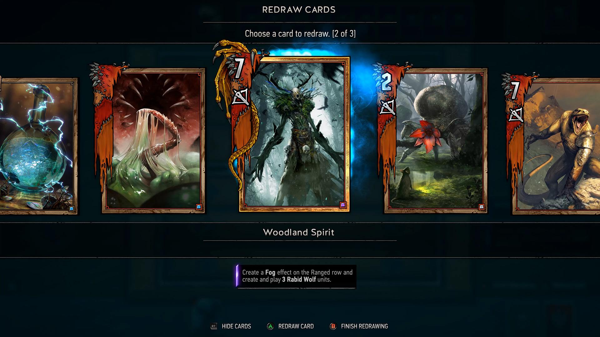 巫师之昆特牌 游戏画面