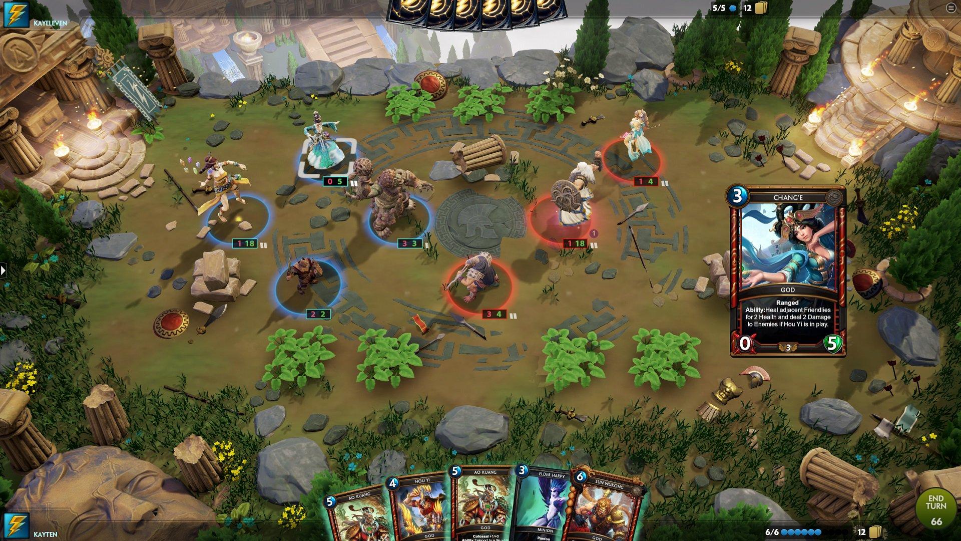神之浩劫:策略 游戏画面