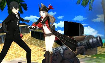 紫罗兰海盗时装