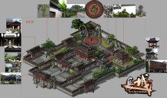 长城OL-场景原画