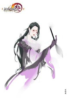 剑网3-玩家十二门派成女插画